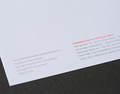 VonRundstedt — Corporate Design Refresh