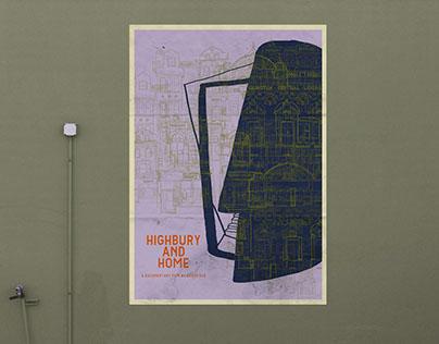 """""""Highbury and Home"""" movie poster"""