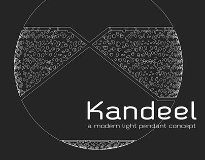 kandeel | A modern light pendant concept