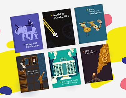 Sitepoint - Book Covers