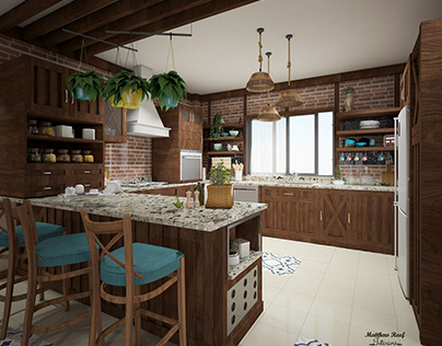 Farmhouse ( Kitchen ).