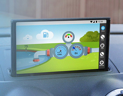 H2O drive - Hybrid car app