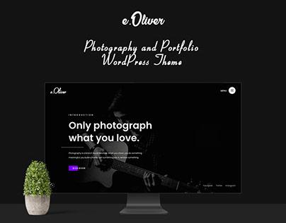 Photography Portfolio WordPress Theme - Oliver