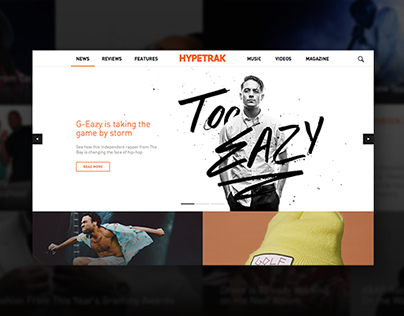 HYPETRAK: Responsive Website + Digital Publication