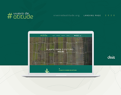 Viveiro de Atitude - Landing Page