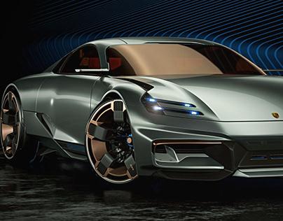 Cyber 677 Porsche, by Paul Breshke, personal project