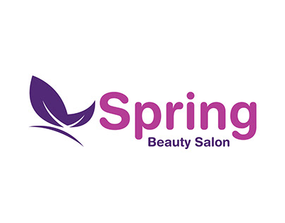 Spring Beauty Salon Logo Design