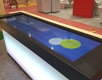 Bar interactif et digital Harmonie Mutuelle