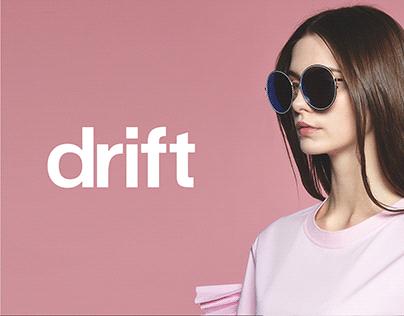 Drift Fashion Publication - Brand Identity Design
