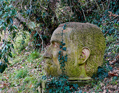 Sculpture garden - P.M. Popple