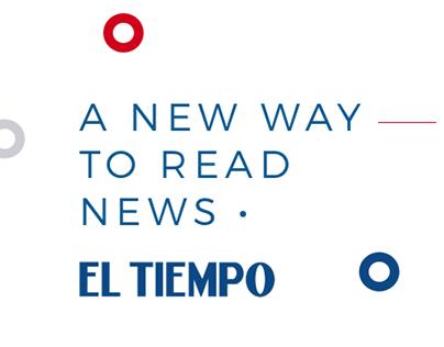 Newspaper Redesign - El Tiempo