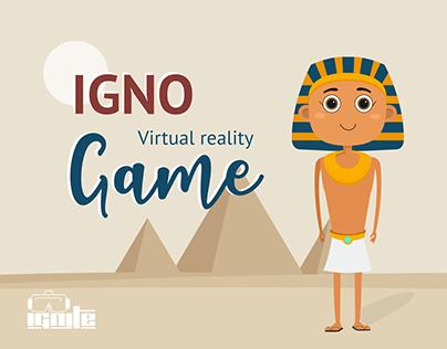 """Igno "" virtual reality game"
