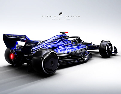 Ford F1 2021 Concept Livery: 3D Visualisation