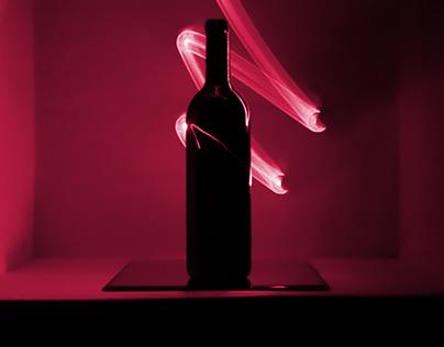 Red line wine Bottle 03-04