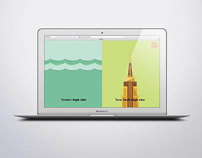 CA'DOLCE Storytelling Website Design