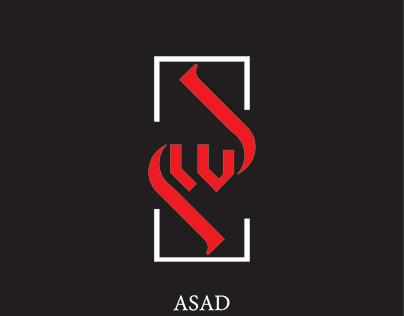 Asad Name Creative Design