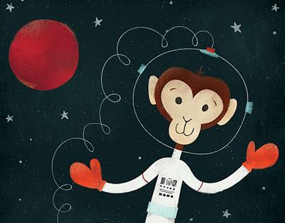 Space Walking Monkey: Critter of the Week