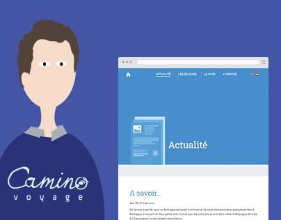 Camino voyage website
