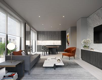 Apartment Interior, Europe