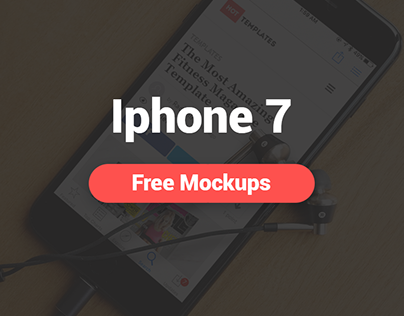 Unbelievable Freebie Iphone 7 Realistic Mockup