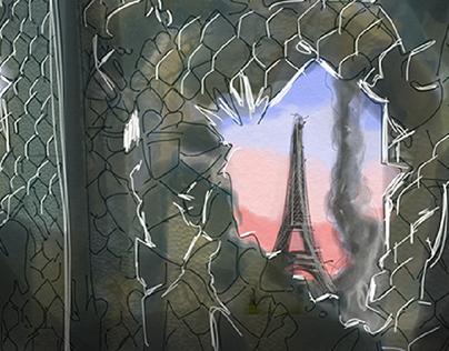 Coalition Européenne - Paris en ruine