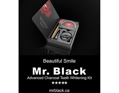 Packaging Design For Mr.Black.