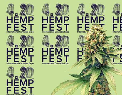 420 HEMP FEST // REBRAND
