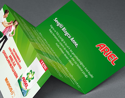 Ariel Sample Kit design