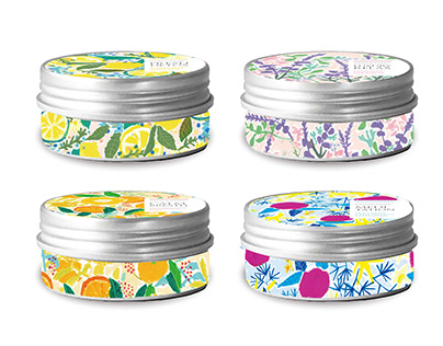 Aroma candle package design