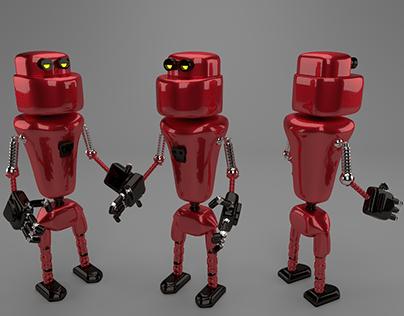 3D Robot Modelling