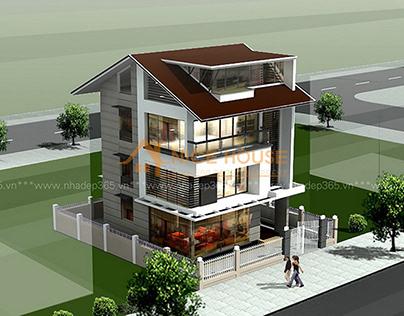 Biệt thự 3 tầng nhà anh Tân – Nha Trang