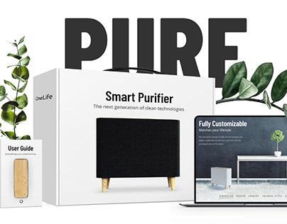 OneLife - Corporate Design | Landingpage | Packaging