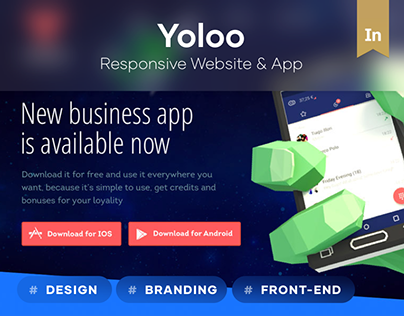 YOLOO - business calling app.