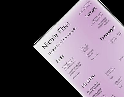 CV Design   Personal Branding