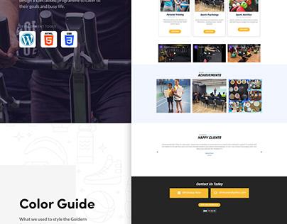 Goldernempowersports Official Web design
