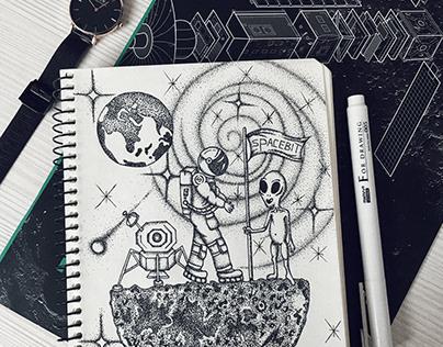 Dotwok art