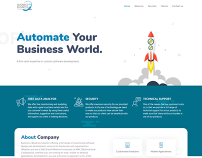 B2B SOLUTION SOFTWARE COMPANY