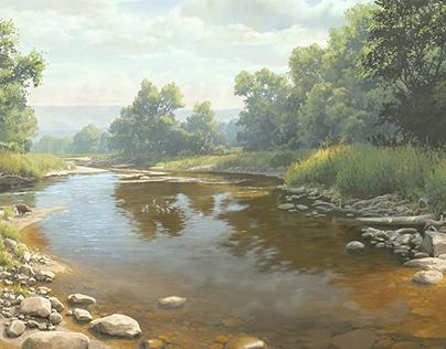 QHNC | Zumbro River Mural