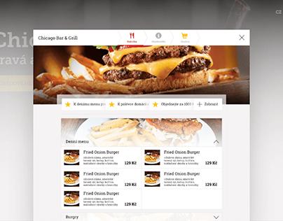 Web app Restia
