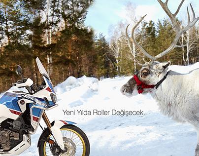 Honda Motosiklet- Yeni Yıl