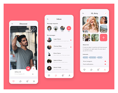 Matchy - Mobile App Design
