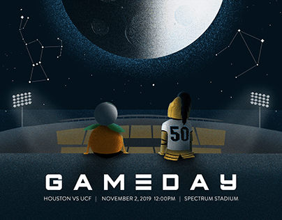 UCF Football 2019 Gameday Illustrations