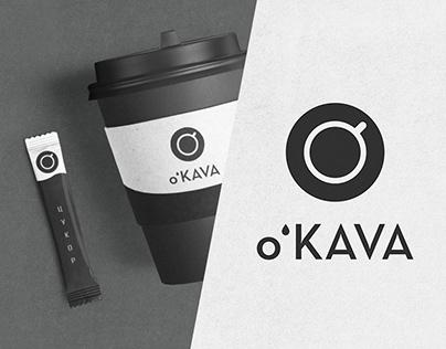 Фирменный стиль для кофейни O'KAVA.