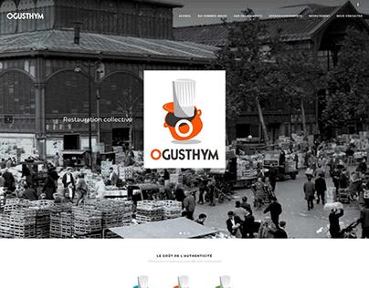 Ogusthym - Wordpress website