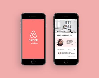 Mobile App: Airbnb Au Pair