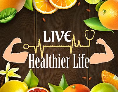 Creative Social Media ads-HealthyLife