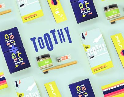 Toothy Sustainable Brushing Kit