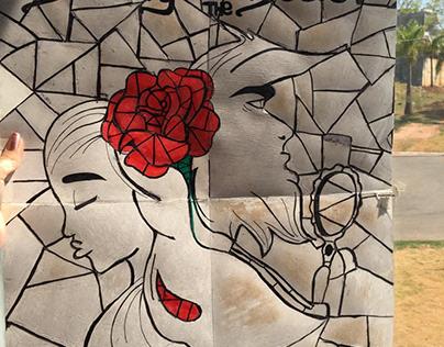 Cartaz do filme Beauty and the Beast- Bauhaus