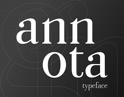 Annota Typeface