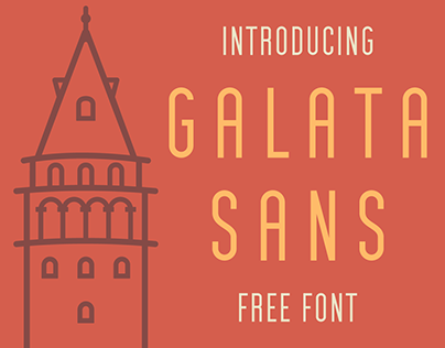 "FREE ""Galata Sans"" Font"